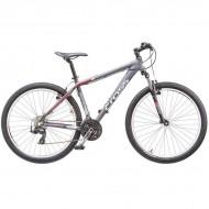 "Bicicleta CROSS Grx 26"" gri/rosu/ alb 51 cm"