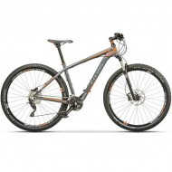 "Bicicleta CROSS Big Foot 29"" gri/portocaliu 45 cm"