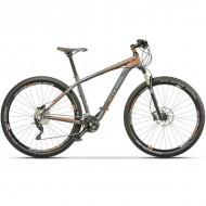 "Bicicleta CROSS Big Foot 29"" gri/portocaliu 45 cm"