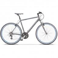 "Bicicleta CROSS Areal Urban 28"" gri/albastru 48 cm"