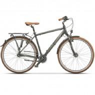 "Bicicleta CROSS Cittera Man 28"" gri/argintiu 48 cm"