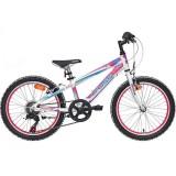 """Bicicleta CROSS Speedster HF 20"""" alb/roz/albastru"""