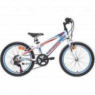 "Bicicleta CROSS Speedster HF 20"" alb/albastru/rosu"