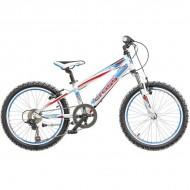 "Bicicleta CROSS Speedster 20"" alb/albastru/rosu"