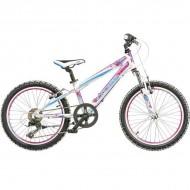 "Bicicleta CROSS Speedster 20"" alb/roz/albastru"