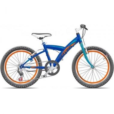"Bicicleta CROSS Rocky 20"" albastru"