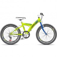 "Bicicleta CROSS Rocky 20"" verde"