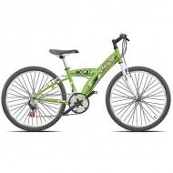 "Bicicleta CROSS Rocky 24"" verde"