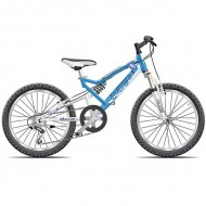 "Bicicleta CROSS Scorpion 24"" albastru"