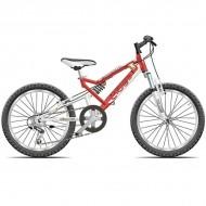 "Bicicleta CROSS Scorpion 24"" rosu"