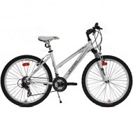 "Bicicleta CROSS Julia 26"" alb/mov 40 cm"