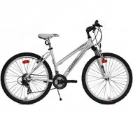 "Bicicleta CROSS Julia 26"" alb/mov 40 cm"