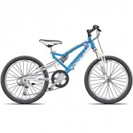 """Bicicleta CROSS Scorpion 20"""" albastru"""