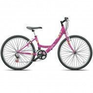 "Bicicleta CROSS Alissa 24"" roz"