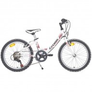 "Bicicleta CROSS Alissa 20"" alb"