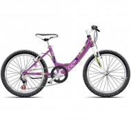 "Bicicleta CROSS Alissa 20"" mov"