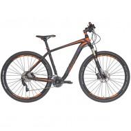 "Bicicleta CROSS Big Foot 27.5"" gri/portocaliu 42 cm"