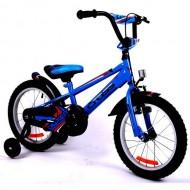"Bicicleta CROSS Boxer 16"" albastru/rosu"