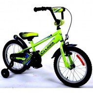 "Bicicleta CROSS Boxer 16"" verde/albastru"
