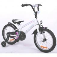 "Bicicleta CROSS Daisy 16"" alb/roz"