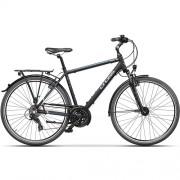 "Bicicleta CROSS Areal Man Trekking 28"" negru/gri/albastru 48 cm"