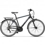 "Bicicleta CROSS Areal Man Trekking 28"" negru/albastru 48 cm"