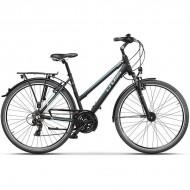 "Bicicleta CROSS Arena Lady Trekking 28"" negru/albastru 44 cm"