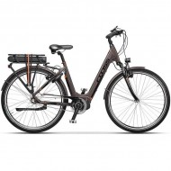 "Bicicleta CROSS Electrica Elegra City Lady 28"" maro 45 cm"