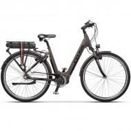 "Bicicleta CROSS Electrica Elegra City Lady 28"" maro 45 cm"