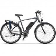 "Bicicleta CROSS Electrica Elegra City Man 28"" gri/negru 50 cm"