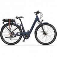"Bicicleta CROSS Electrica Elegra Trekking Lady 28"" albastru 45 cm"