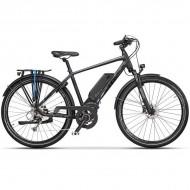 """Bicicleta CROSS Electrica Elegra Trekking Man 28"""" gri/negru 50 cm"""