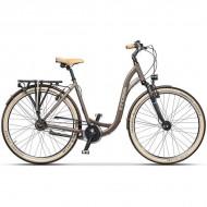 "Bicicleta CROSS Cierra 28"" maro 43 cm"