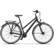 "Bicicleta CROSS Citerra Lady 28"" negru/gri 44 cm"