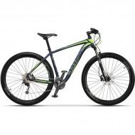 "Bicicleta CROSS Big Foot 29"" albastru/gri/verde 42 cm"