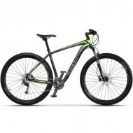 "Bicicleta CROSS Big Foot 27.5"" albastru/gri/verde 42 cm"
