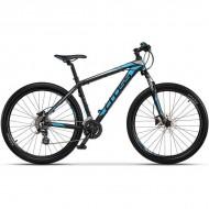 "Bicicleta CROSS Grx 27.5"" negru/albastru/gri 51 cm"