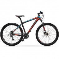 "Bicicleta CROSS Grx 27.5"" negru/rosu/ albastru 46 cm"
