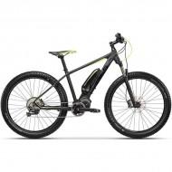 "Bicicleta CROSS Electrica Element 27.5"" negru/verde 44 cm"