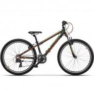 """Bicicleta CROSS Speedster 26"""" negru/verde/portocaliu 32 cm"""