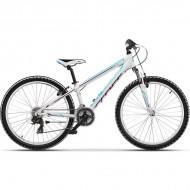 """Bicicleta CROSS Speedster 26"""" alb/albastru/mov 32 cm"""