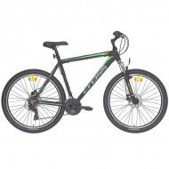 "Bicicleta CROSS Viper MDB 27.5"" negru/verde 41 cm"