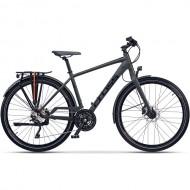 "Bicicleta CROSS Tour-X 28"" gri/negru 52 cm"
