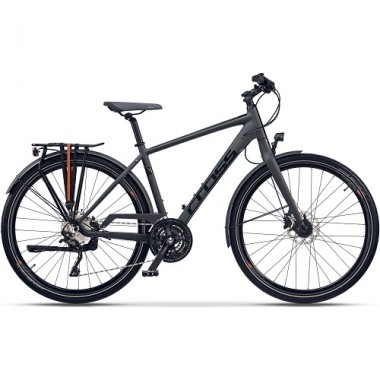"Bicicleta CROSS Tour-X 28"" gri/negru 56 cm"