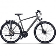 "Bicicleta CROSS Legend Man 28"" gri/negru 52 cm"