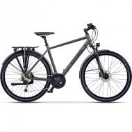 "Bicicleta CROSS Legend Man 28"" gri/negru 48 cm"
