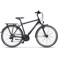 "Bicicleta CROSS Areal 28"" negru/gri 48 cm"