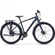 "Bicicleta CROSS Tour-X Urban 28"" gri/negru 52 cm"