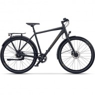 "Bicicleta CROSS Quest Man Urban 28"" gri/negru/portocaliu 50 cm"