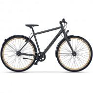 "Bicicleta CROSS C-Trax IGH 28"" gri/negru 52 cm"